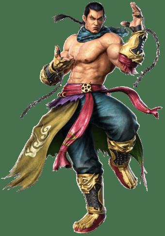 Le personnage de tekken 5 Feng Wei