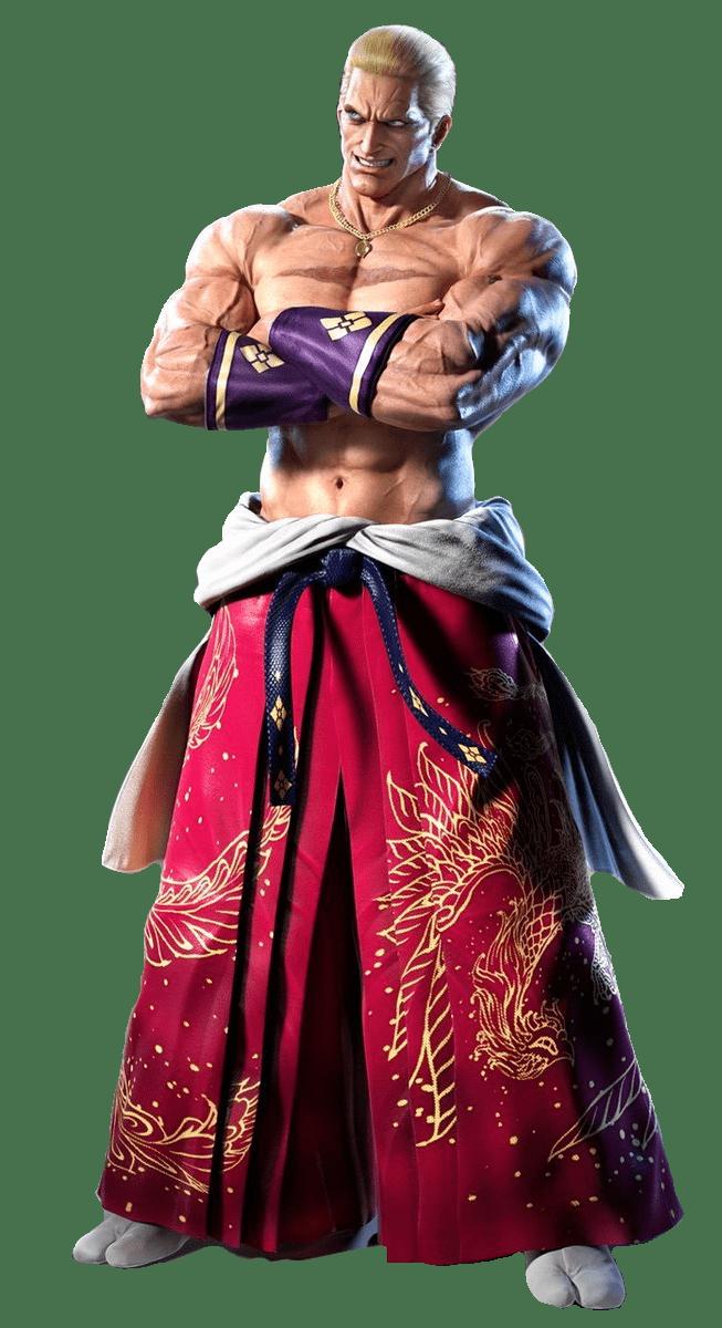 Le personnage de Tekken 7 Geese Howard