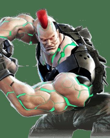Le personnage de Tekken 7 Jack-7