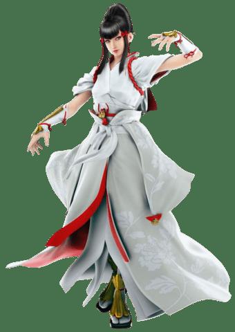 Le personnage de Tekken 7 Kazumi Mishima