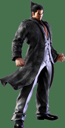 Le personnage de tekken Kazuya Mishima