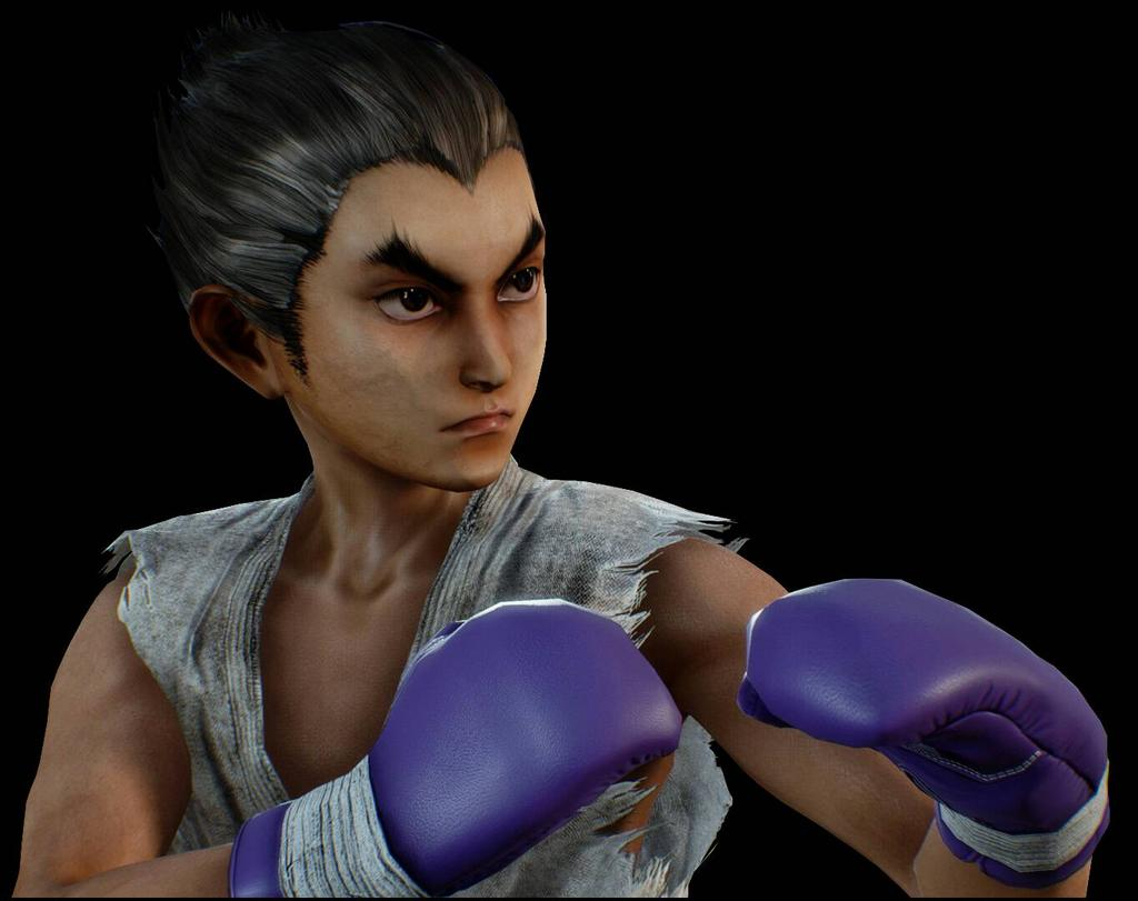 Le personnage de Tekken 7 Kid Kazuya
