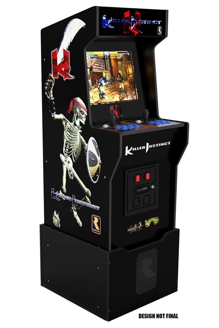 Arcade1Up nouvelles bornes arcades jeux de baston