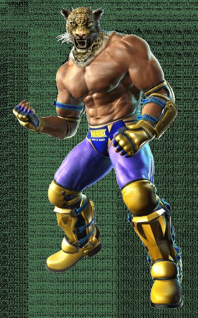 Le personnage de Tekken 3 King 2