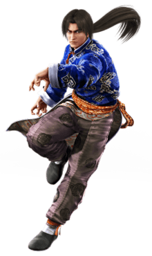 Le personnage de Tekken 2 Lei Wulong