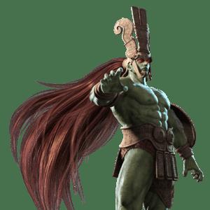 Le personnage de Tekken 3 Ogre