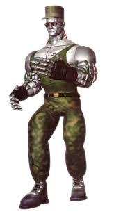 Le personnage de Tekken Prototype Jack