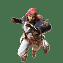Le personnage de Tekken 7 Shaheen