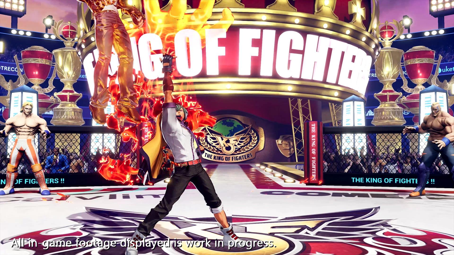 bande-annonce et screenshots de Shun'ei The King of Fighters 15
