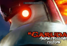 Le costume de Garuda pour Akuma sur Street Fighter V: Champion Edition