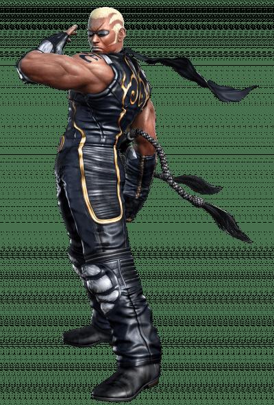 Le personnage de Tekken 5 Raven