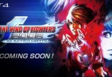Le logo de The King of Fighters 2002 Unlimited Match avec la mention coming soon