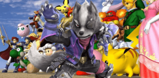 Wolf maintenant disponible dans Super Smash Bros. Melee