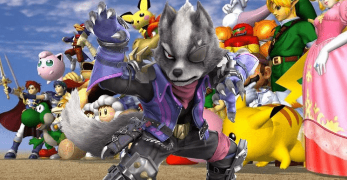 Wolf maintenant disponible dans Super Smash Bros. Melee