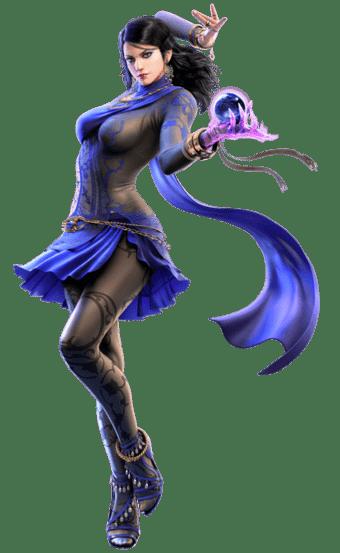 Le personnage de Tekken 6 Zafina