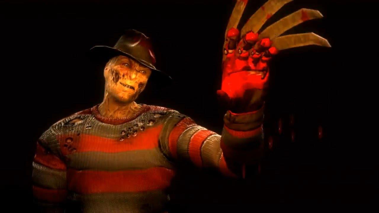 Le personnage en DLC de Mortal Kombat 9 Freddy Krueger