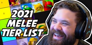 Super Smash Bros Melee tier list hungrybox 2021