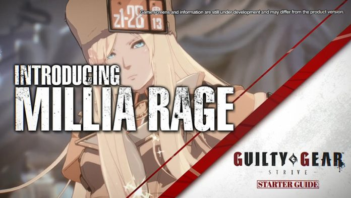 Millia Rage Guide Guilty Gear Strive