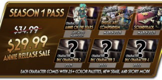 Skullgirls 2nd Encore premier Season Pass