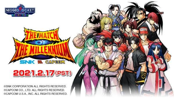 SNK vs. Capcom : The match of the Millenium arrive le 17 février sur Nintendo Switch
