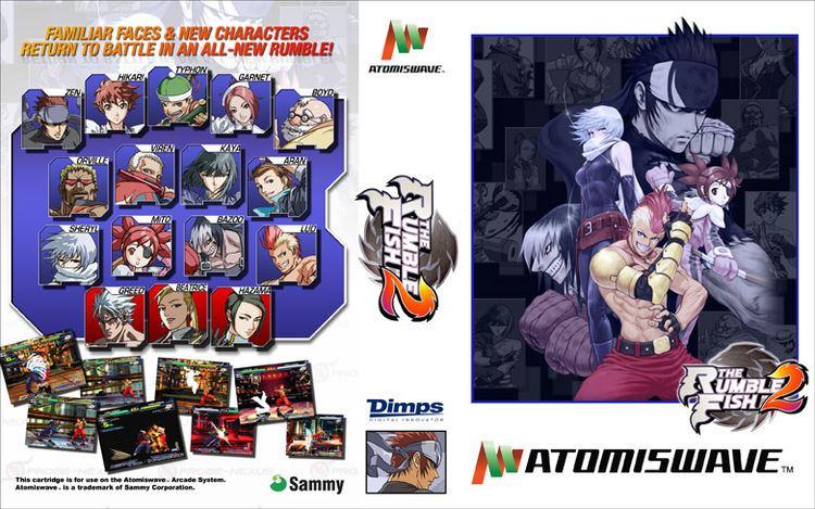 Le jeu pour Atomiswave The Rumble Fish 2