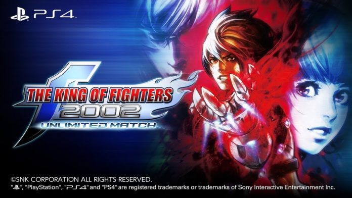 The King of Fighters 2002 Unlimited Match disponible sur playstation 4