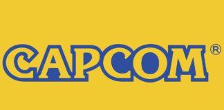 Le logo de Capcom sur fond jaune