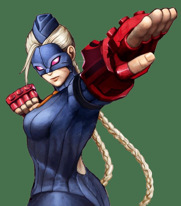 Le personnage de Street Fighter 4 Decapre