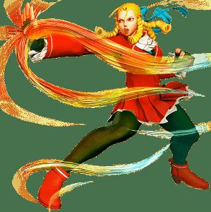 Le personnage de Street Fighter Alpha 3 Karin Kanzuki