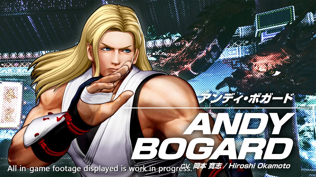 bande-annonce andy bogard the king of fighters 15