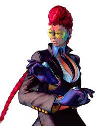 Le personnage de Street Fighter Crimson Viper