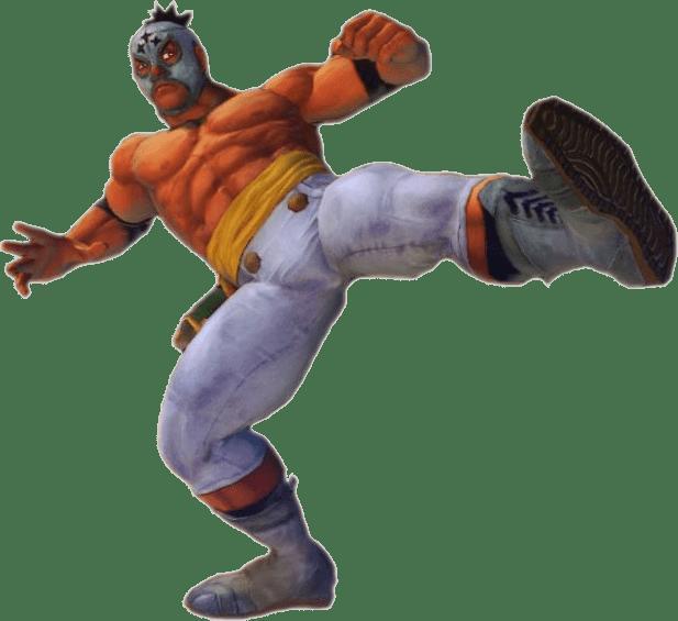 Le personnage de Street Fighter IV El Fuerte