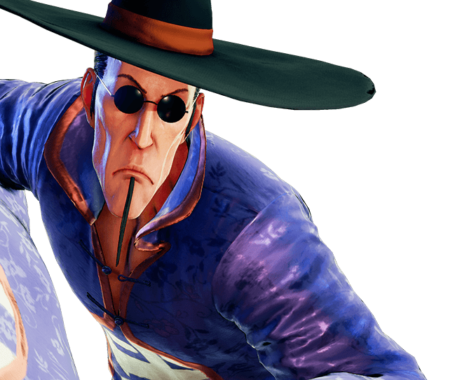 Le personnage de Street Fighter V F.A.N.G.