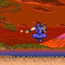Le personnage de Street Fighter Geki