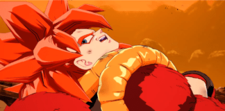 Gogeta SSJ4 sort le 12 mars Dragon Ball FighterZ Final dramatique