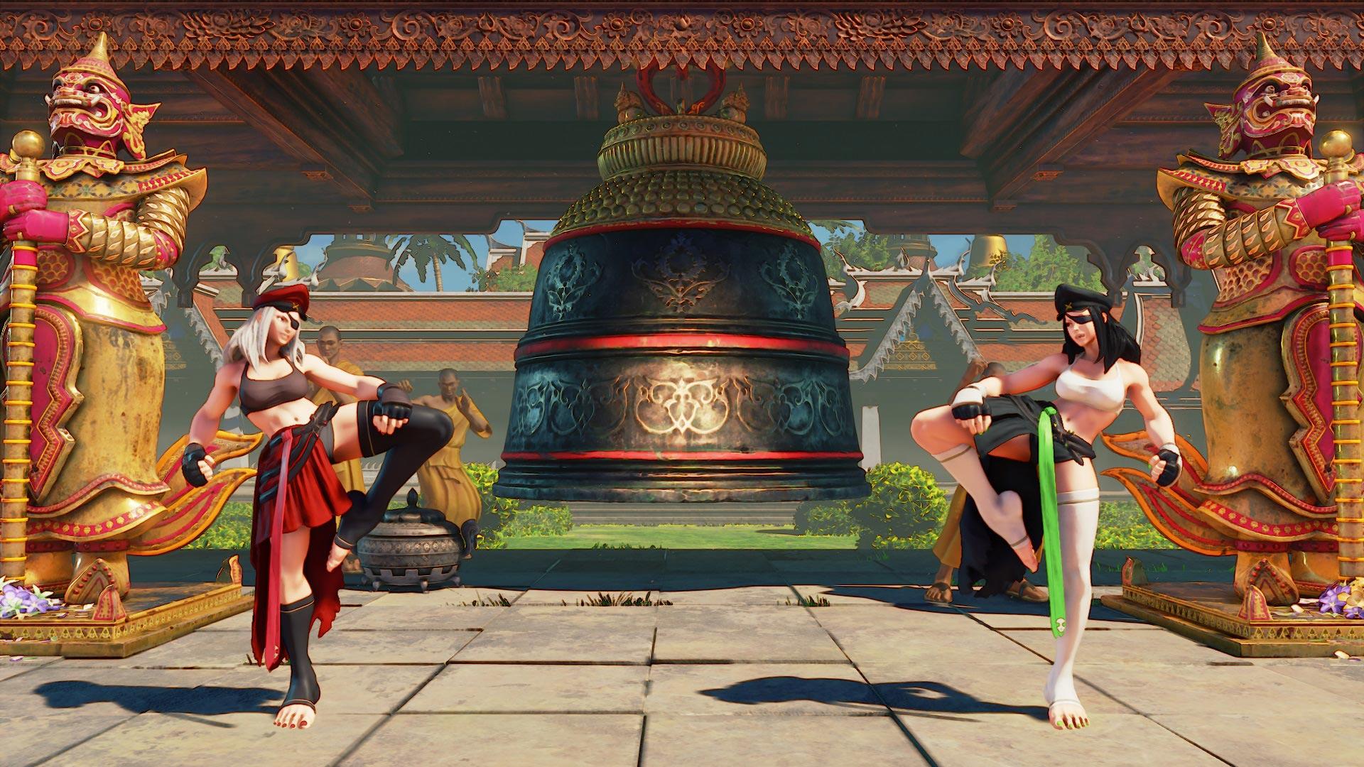 Nouveau costume Juri Street Fighter 5