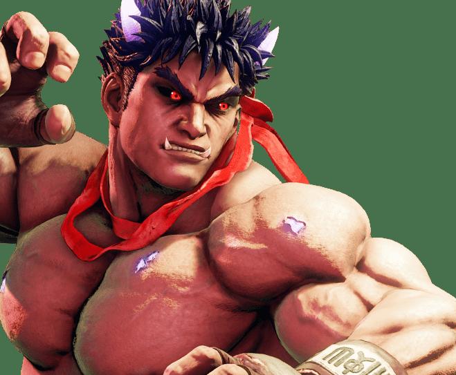Le personnage de Street Fighter V Kage