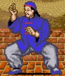 Le personnage de Street Fighter Lee
