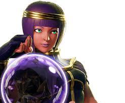 Le personnage de Street Fighter V Menat