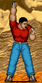 Le personnage de Street Fighter Mike