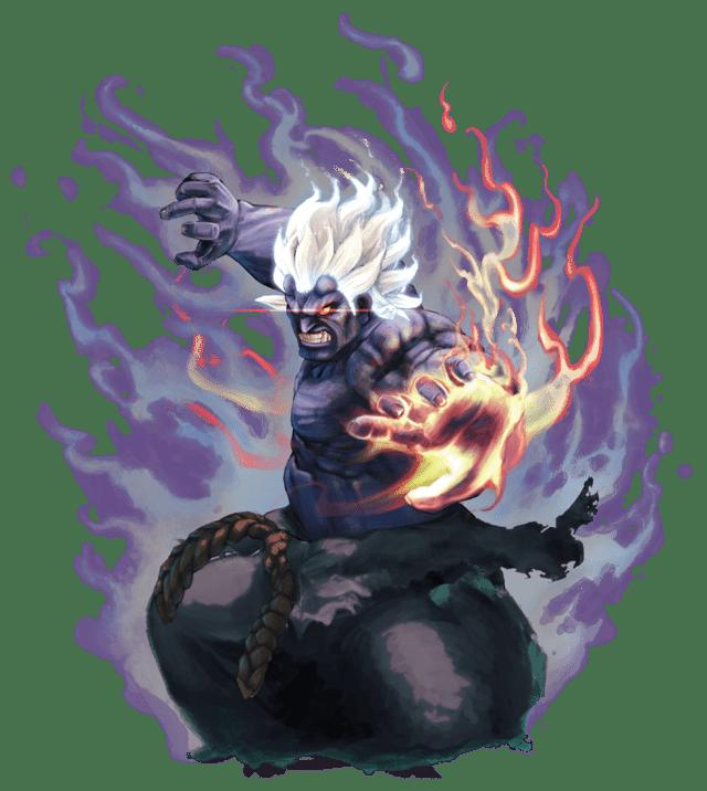 Le personnage de Street Fighter IV