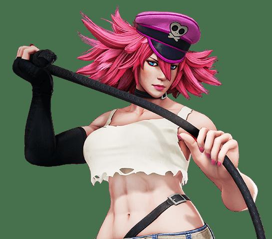 Le personnage de Street Fighter 4 Poison