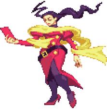Le personnage de Street Fighter Alpha Rose