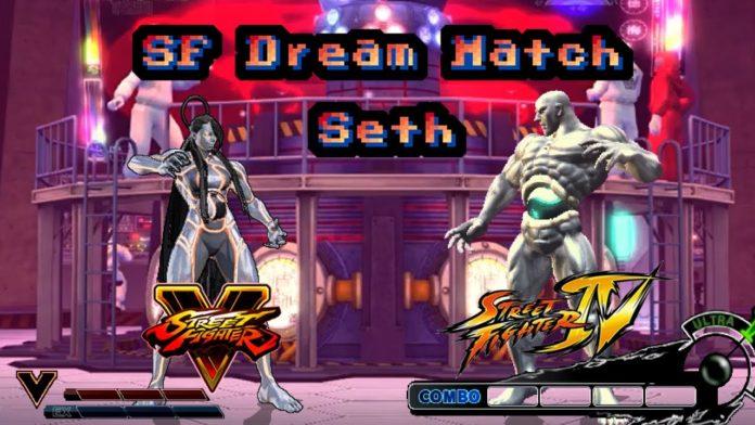 Match Seth de Street Fighter 5 VS Seth de Street Fighter 4