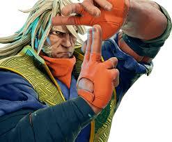 Le personnage de Street Fighter V Zeku