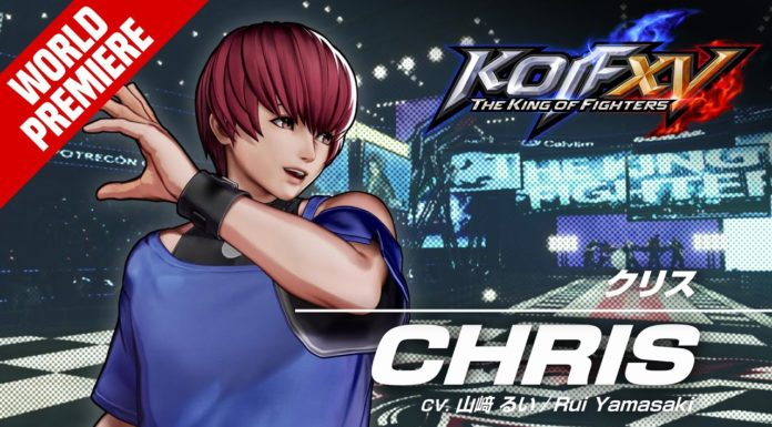 Chris bande-annonce The king of fighters 15