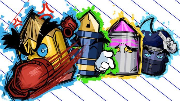 Les 4 personnages du beat'em up Contract Killer
