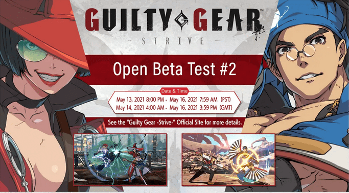 Guilty Gear Strive 2ème Beta-Test