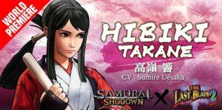 Hibiki Takane DLC Samurai Shodown