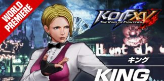 Bande-annonce gameplay de King pour The King of Fighters 15